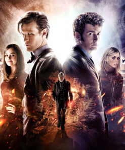 На картинке толстовка «Доктор Кто», промо к сериалу.