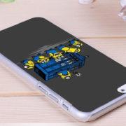 Чехол «Доктор Кто и Минионы» на айфон 4-4S-5-5S-6-6+ фото