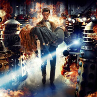 На картинке кулон «Далеки» из Доктор Кто, промо к сериалу.
