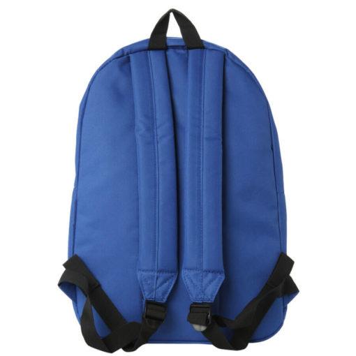 На картинке рюкзак «Доктор Кто», вид сзади.