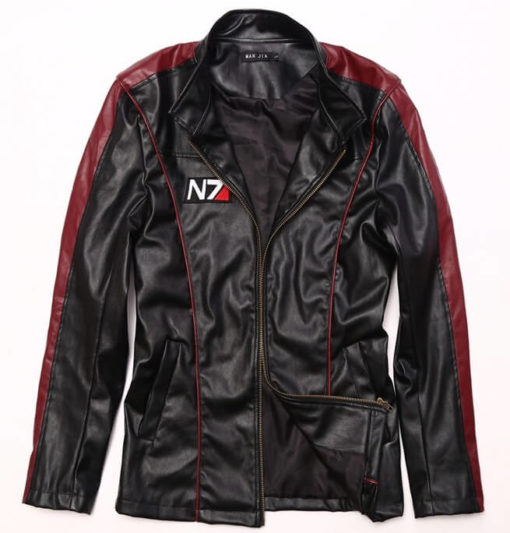На картинке куртка N7 Mass effect (Масс эффект), вид спереди.