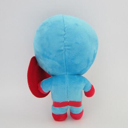 На картинке игрушки Марвел «Капитан Америка», вид сзади, 22 см.