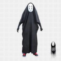 На картинке косплей костюм Безликого (Унесенные призраками), вид спереди.