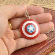 Кулон «Капитан Америка» фото
