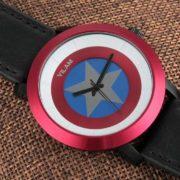 Наручные часы «Капитан Америка» (премиум) фото