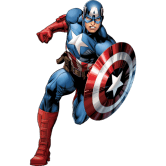 На картинке чехол на айфон 6 «Капитан Америка», промо.