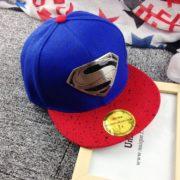 Рэперская кепка «Супермен» (Superman) с прямым козырьком фото