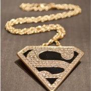 Кулон-ожерелье «Супермен» (Superman) фото