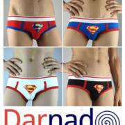 Трусы-плавки «Супермен» (Superman) фото