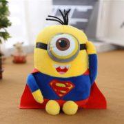 Мягкая игрушка «миньон Супермен» (Superman) 2 варианта фото