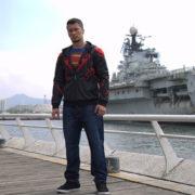 Кофта «Супермен» мужская (Superman) фото