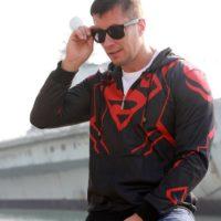 На картинке кофта «Супермен» мужская (Superman), общий вид.