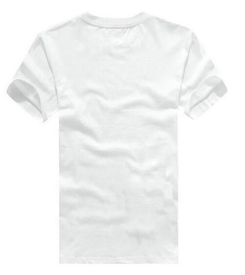 На картинке футболка «Рубашка Супермена» (Superman), вид сзади, цвет белый.