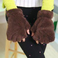 Варежки-перчатки кошачьи лапки фото