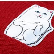 Шапка с котом, показывающим фак (3 цвета) фото