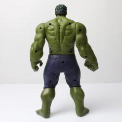 На картинке фигурка Марвел титаны Халк (Hulk \ Avengers \ Marvel), вид сзади.