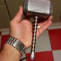 косплей-игрушка молот тора, реальное фото