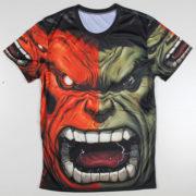 Футболка Халк Марвел (Hulk \ Avengers \ Marvel) фото