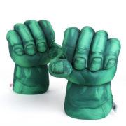 Перчатки в виде кулаков Халка (Hulk \ Avengers \ Marvel) фото