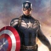 На картинке фигурка Капитан Америка Мстители (Марвел \ Marvel), кадр из фильма.
