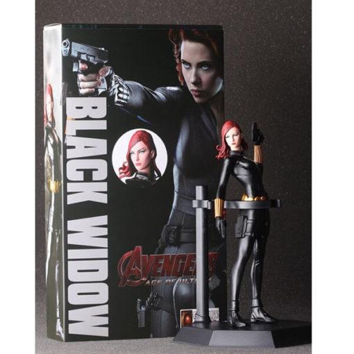 На картинке фигурка Черная Вдова Мстители (Марвел \ Marvel), общий вид.