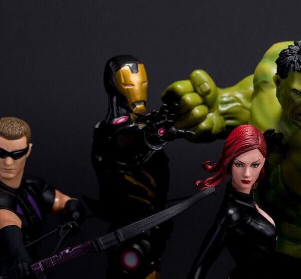 На картинке фигурки Мстители 2: Эра Альтрона (Марвел \ Marvel).