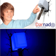 3D-светильник «Молот Тора» фото