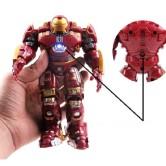 На картинке фигурка Халкбастер из Мстителей 2 (Hulkbuster \ Avengers \ Marvel), вид спереди.