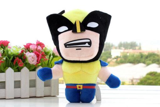 На картинке набор мягких игрушек «Мстители», вариант Росомаха.