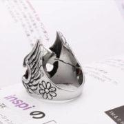 Кольцо в виде шлема Тора фото