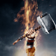 Кулон-амулет молот Тора фото