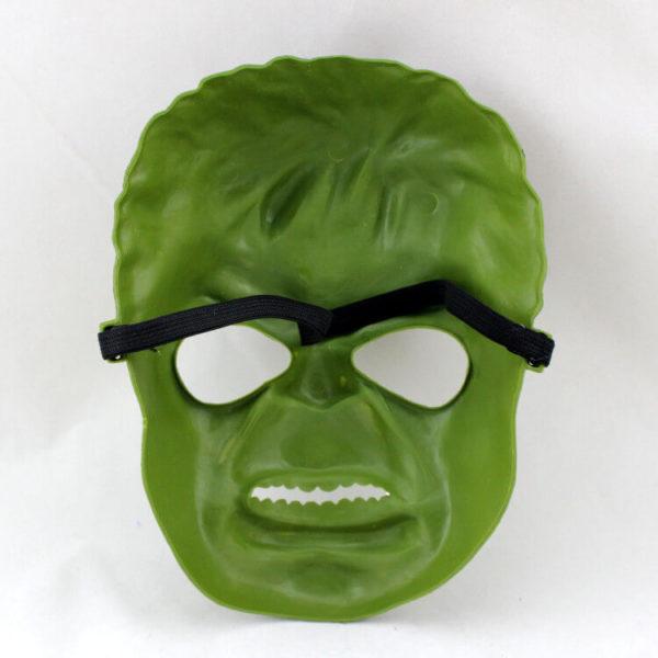 На картинке маска Халка (Hulk \ Avengers \ Marvel), вид сзади.