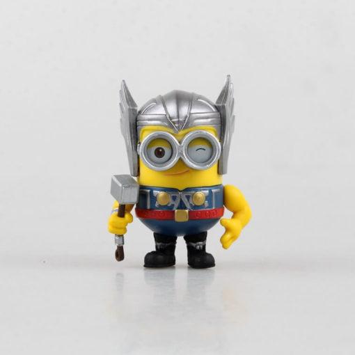 На картинке фигурки Миньонов-Мстителей (Марвел \ Marvel).