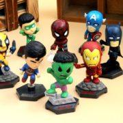 Набор фигурок супергероев Марвел (Hulk \ Avengers \ Marvel) фото