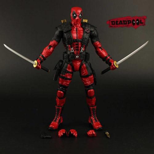 На картинке фигурка Дедпул Люди Икс (Дэдпул \ Deadpool X MEN), вид спереди.