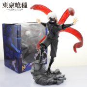 На картинке фигурка Канеки Кена «Токийский гуль» (Tokyo Ghoul), общий вид.