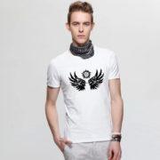 На картинке футболка Сверхъестественное (Supernatural), вид спереди, цвет белый.