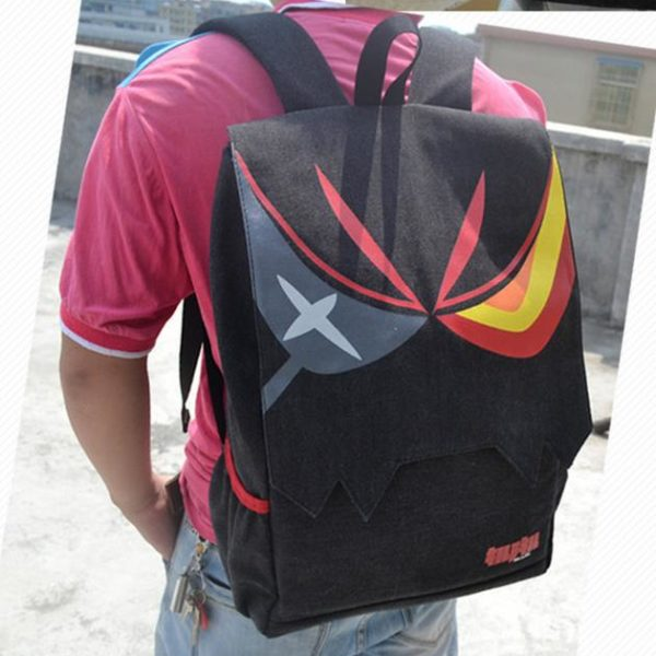 На картинке рюкзак Рюко Матой из Kill la kill (Убить или быть убитым), общий вид.