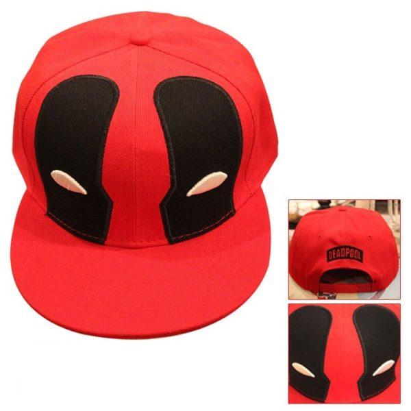На картинке кепка Дэдпул (Дедпул \ Deadpool) — 4 варианта, вариант 4.