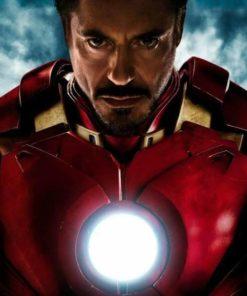 На картинке игрушка мини-реактор Железного Человека (Iron Man), промо к фильму.