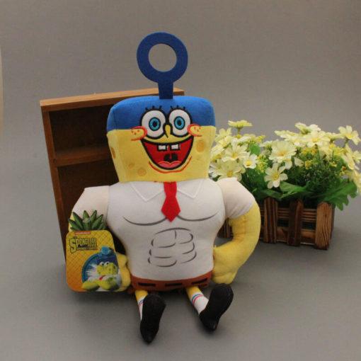 На картинке мягкие игрушки Губка «Спанч» Боб и Патрик «Стар», Губка Боб.
