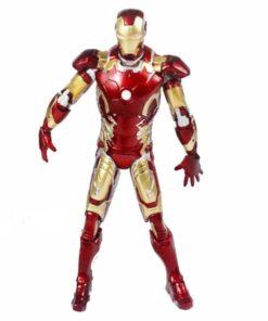 На картинке фигурка Железный Человек (Marvel Legends) (Iron Man), вид спереди.