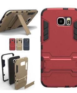 На картинке ударопрочный чехол Железный Человек на Samsung Galaxy S6 Edge (Iron Man), 3 варианта.