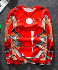 На картинке кофта Железного Человека (Iron Man), вид спереди.