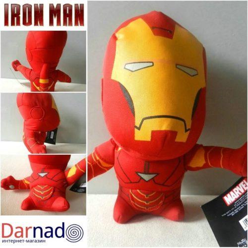 На картинке игрушечный Железный Человек Марвел (Iron Man), вид с разных сторон.