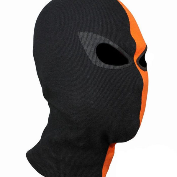 На картинке маска Дестроука (Deathstroke), общий вид.