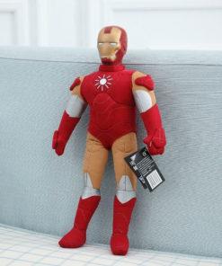 На картинке большая мягкая игрушка Железный Человек Марк 6 (Iron Man Mark 6), общий вид.