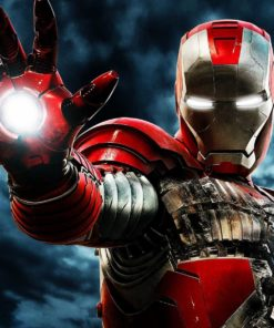 На картинке толстовка костюм Железного Человека (Iron Man), промо к фильму.