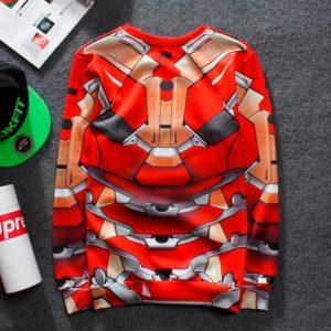 На картинке кофта Железного Человека (Iron Man), вид сзади.