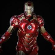 Игрушечный Железный Человек Марвел (Iron Man) фото